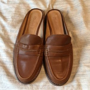 Gently used madewell loafer mules size 7.5
